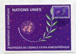 UNO / SWITZERLAND - AK 261864 MC - UN Geneva 1982 No 5 Exploration And Peaceful Uses Of Outer Space - Altri - Europa