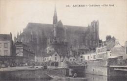 Ph-CPA Amiens (Somme) Cathédrale Côté Nord - Amiens
