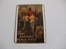 Drink Adriano Ramos Pinto Vila Nova De Gaia Portugal Portuguese Pocket Calendar 1991 - Tamaño Pequeño : 1991-00