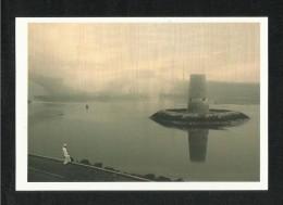 United Arab Emirates UAE Abu Dhabi Picture Postcard Ancient Watch Tower Sits Abu Dhabi View Card - Dubai