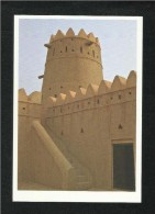 United Arab Emirates UAE Abu Dhabi Picture Postcard Al Gharbia Fort View Card - Dubai