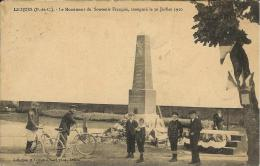 Licques - Le Monument Du Souvenir Français, Inauguré Le 30 Juillet 1910 - France