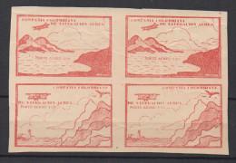 A412.-. KOLUMBIEN .-. 1920.  MI # : 13,14. -MINT BLOCK - CCNA- COMPAÑIA COLOMBIANA DE NAVEGACION AEREA CV € : 300.0 - Colombia