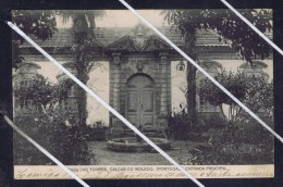"CALDAS DO MOLEDO Principal Entrance On ""Torres House""  Matriz View  Portugal 1927  Postcard 5801 - Portugal"