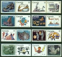 """-Kanada-""""Eskimo Leben & Kunst"""" Postfrisch (**) - Canada"""
