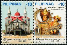 PH0719 Philippines 2015 Church Building 2v MNH - Philippines