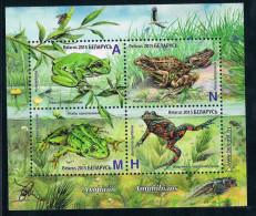 CS1059 Belarus Frog Pond 2015 New Stamp Souvenir Sheet 1MS - Wit-Rusland
