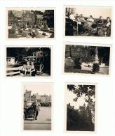 Lot De 6 Photos ( +/- 6 X * Cm) GASBEEK 1949 .(ALB) - Places