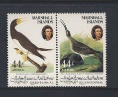 MARSHALL 1985 OISEAUX-AUDUBON  Scott N°C1/2 NEUF MNH** - Oiseaux