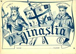 MONARQUIA 2.ª Dinastia D. João I Até Cardeal D. Henrique - Caderno Escolar - Reinados Batalhas Descobrimentos - Por - Schulbücher