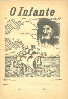 MONARQUIA - Infante D. Henrique - Caderno Escolar - Caravela Descobrimentos - Portugal - Books, Magazines, Comics
