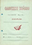 Caderno Escolar Diário Quadriculado - Portugal - Scolaires