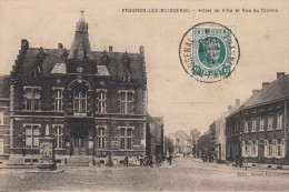 Frasnes-lez-Buissenol (Buissenal)Hôtel De Ville Et Rue Du Cloître - Frasnes-lez-Anvaing