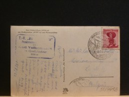 58/449B   CP POUR LA  BELG  1951 - 1945-.... 2nd Republic