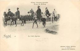 FETES FRANCO-RUSSES REVUE DE BETHENY LES CAIDS ALGERIENS  1901 - Manoeuvres
