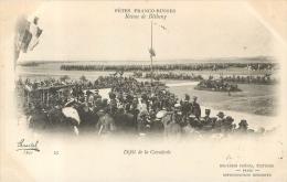 FETES FRANCO-RUSSES  1901 REVUE DE BETHENY  DEFILE DE LA CAVALERIE - Manoeuvres