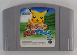 N64 Japanese : Pikachu Genki Dechu NUS-NPGJ-JPN V183745 - Nintendo 64