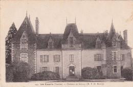Cp , 85 , LES ESSARTS , Château De Grissay - Les Essarts