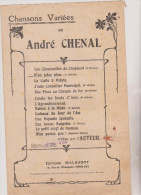 (GB6) N´en J´ Tez Plus ! ,chanson Comique ;   Paroles Et Musique : ANDRE CHENAL - Partitions Musicales Anciennes
