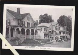 Etats Enis Amerique - Main Street, New Hartford - Hartford