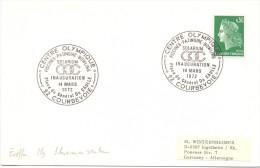 FRANCE CENTRE OLYMPIQUE  INAUGURATION 1972  COURBEVOIE (F160099) - Giochi Olimpici