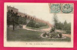 64 PYRENEES-ATLANTIQUES PAU, Nouveau Boulevard Et La Gare, 1905, (B. J. C., Paris) - Pau