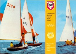 GERMANY KIEL 1 SAILING EVENTS 1972 (F160101) - Giochi Olimpici