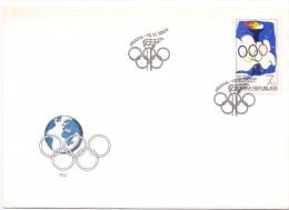 PRAHA FDC OLYMPIC GAMES  (F160105) - Giochi Olimpici
