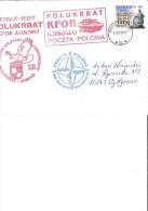 Kosovo Poland Military Mail Cover. KFOR Lettre, Brief - Kosovo
