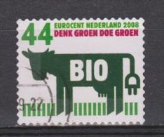 NVPH Netherlands Nederland Niederlande Pays Bas Holanda Nr 2552 Used ; Koe Cow La Vache Vaca, 2008 MUCH MORE COWS LOOK ! - Koeien