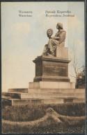 Polen   -      Warschau-Warszawa, Kopernikus-Denkmal / Pomnik Kopernika                                 Feldpost - Polen