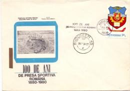 ROMANIA  BUCAREST 100° ANNIVERSARY SPORT 1980 (F160107) - Francobolli