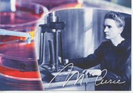 """Marie Curie """"Je Suis De Ceux Qui Pensent Que La Science A Une Grande Beauté"""" (Institut) CP Neuve - Nobel Prize Laureates"""