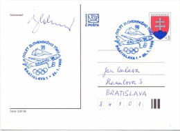 SLOVENIA SLOVENSKO  BRATISLAVA 1 1998 FULL POST  (F160109) - Slovenia