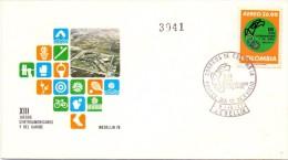 COLOMBIA FDC MEDELLIN 1978(F160113) - Giochi Olimpici