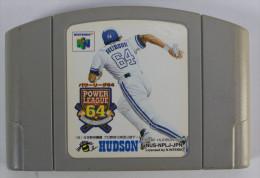 N64 Japanese : Power League 64 NUS-NPLJ-JPN - Nintendo 64