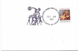 USA NORTH CAROLAINA GREECE  FESTIVAL STATION ATLANTA 1995    (F160129) - Giochi Olimpici