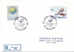 JUGOSLAVIJA OLIMPIJSKE IGRE SARAJEVO 1984    (F160118) - Giochi Olimpici