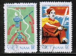 VN 1979 MI 1016-17 USED - Vietnam