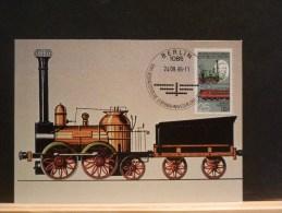 58/518    MAXI  CARTE   DDR - Trains
