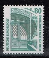 Bund 1987, Michel# 1342 U R ** Mit Nr. 260 - BRD