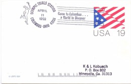 USA 3 PIECES OLIMPYC STATION FULL POST    (F160125-26-27) - Giochi Olimpici