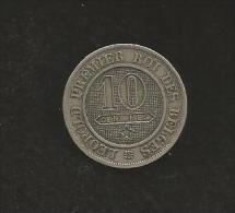 Belgique - LEOPOLD I - 10 Centimes 1863 - 1831-1865: Léopold I