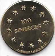 100 SOURCES 1982 SPONTIN - Gemeentepenningen