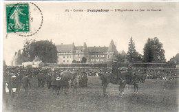 POMPADOUR - L' Hippodrome Un Jour De Courses  ..  (84757) - France