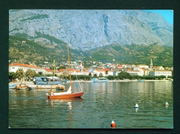 CROATIA  -  Makarska  Unused Postcard As Scan - Croatia