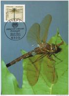 Bund BRD Germany Maximumkarte Maxicard MK FDC 1549 Libellen Tiere (011165) - [7] Federal Republic