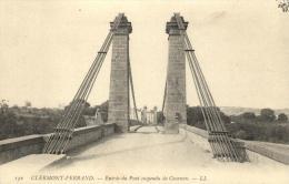 63 - Clermond Ferrand - Le Pont Suspendu De Cournon - 95151 - Clermont Ferrand