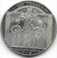 100 TAQUES 1982 VIRTON - Gemeentepenningen