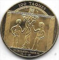 100 TAQUES 1982 VIRTON - Jetons De Communes